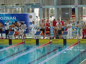 Photo: Międzynarodowy Wielomecz pływacki juniorów (7.04) - M. Kisielewski 3c w reprezentacji Polski
