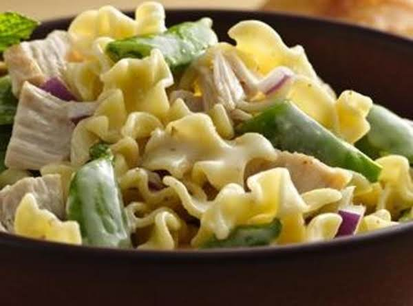 Chicken And Sugar Snap Pea Pasta Salad Recipe