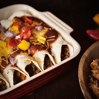 Make Ahead Ground Beef Enchiladas