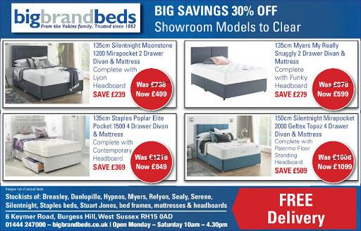 Silentnight bed offers