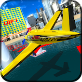 Sky Air Race 3D Simulation