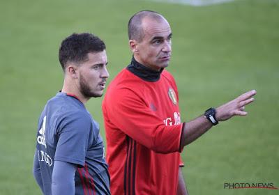 """Roberto Martinez évoque le manque de condition de son capitaine : """"Il n'est pas prêt à jouer en match officiel"""""""