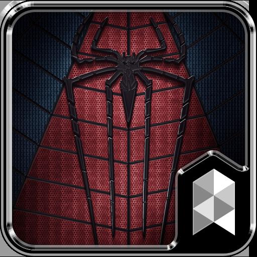 Black Spider Launcher theme