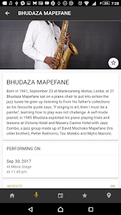 Standard Bank Joy of Jazz 2017- screenshot thumbnail
