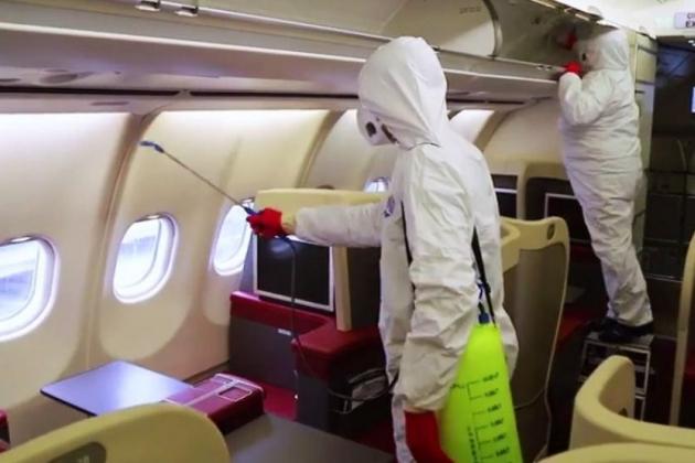 Вирус в самолёте