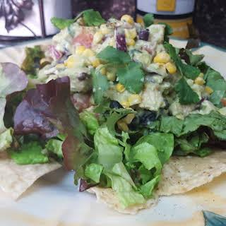 Chicken Black Bean and Avocado Salad.