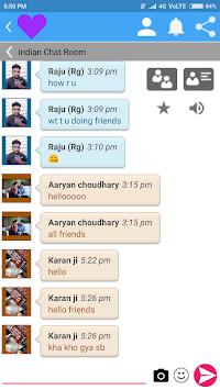 Dialogue en direct dans un Chat rapide et facile dutilisation.