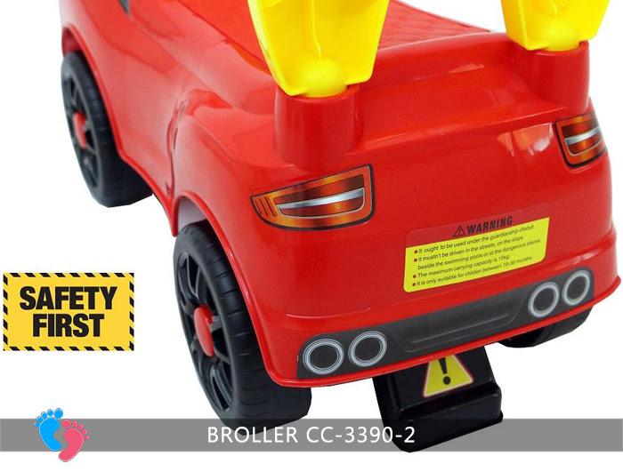 Chòi chân ô tô cho bé Broller CC-3390-2 20