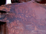 Photo: Atlatl Rock petroglyphs