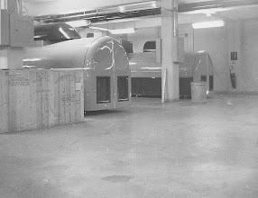 Photo: 2F23 Link Simulators in the Ground Training Bldg.  Circa '55-58
