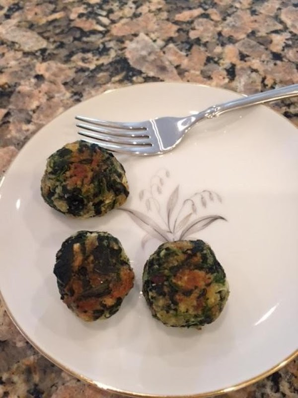 Eat Your Heart Out Popeye''s Spinach Balls Recipe