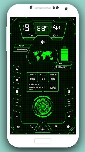 Screenshot for High Style Launcher Pro 2019 - Hi-tech Launcher in United States Play Store