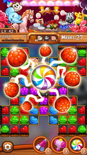 Candy Amuse: Match-3 puzzle android2mod screenshots 3