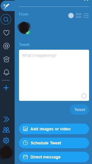 tweetdeck ile tweet atma