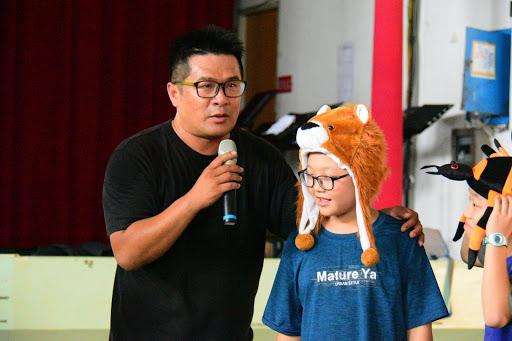 兒童燙傷預防校園說故事