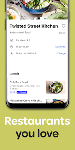 App Wolt: Food delivery APK for Windows Phone