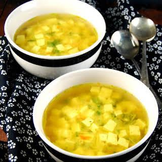Detox Turmeric Ginger Miso Soup.