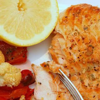 Lemon Cedar Planked Salmon Recipe