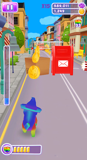Talking Cat Run - Talking Kitty Kitten apkpoly screenshots 8