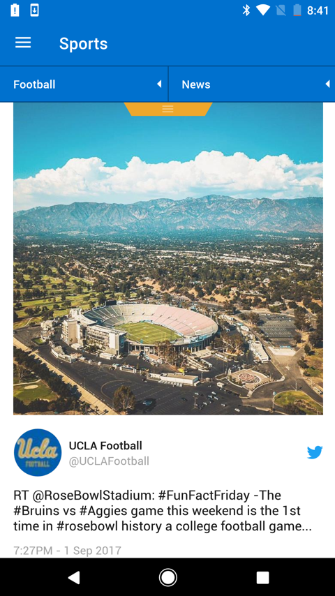 UCLA Bruins- screenshot