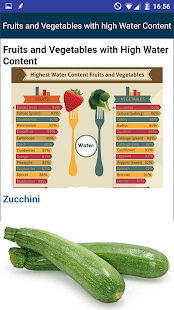 High Water Content Foods Guide - náhled