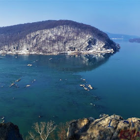River View by Brad Lehigh - Instagram & Mobile Android ( susquehanna, panorama, river, water, landscape )
