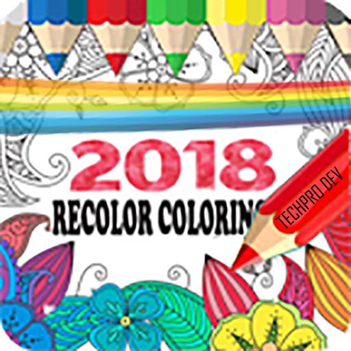 Recolor Coloring Book App 2018
