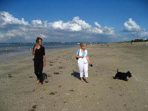Photo: La plage du Butin à Honfleur (2007).