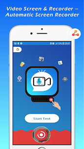 Video Screen & Recorder – Automatic Screen Record App Download For Android 1