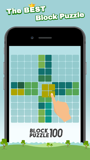 Block Puzzle 100 - Fill lines by tangram cube screenshots 1