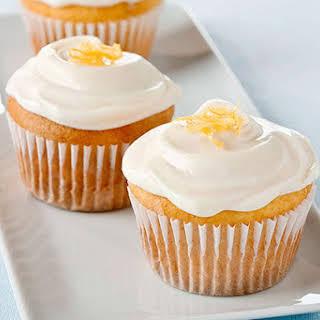 Lemon-Cream Cheese Cupcakes.