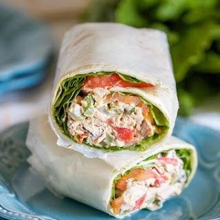 Tex-Mex Chicken Salad Wraps Recipe