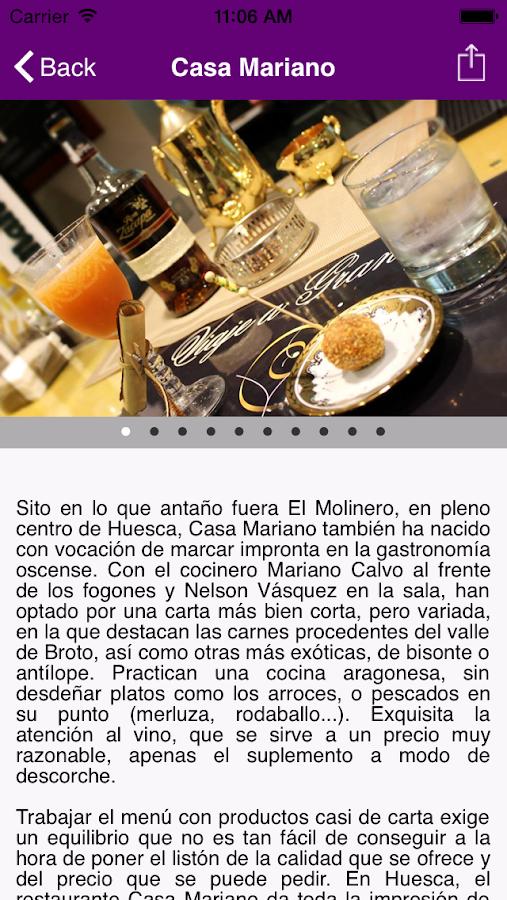 Plano Gastronómico Huesca- screenshot