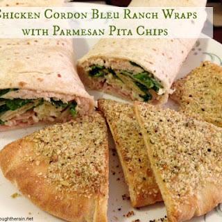 Chicken Cordon Bleu Ranch Wraps.