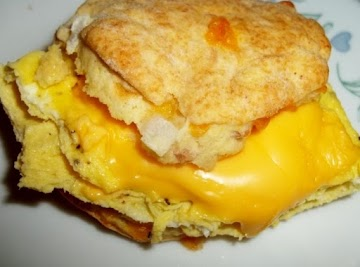 Lovin From My Oven - Ham N Cheddar Biscuits Recipe