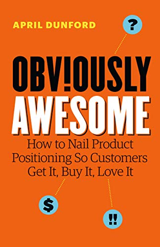 Obviously Awesome. Livros para Product Marketing