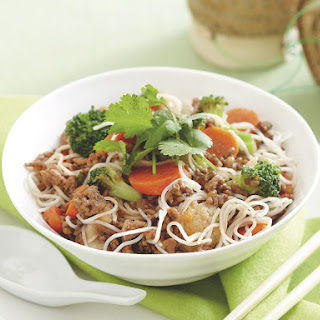 Pork and Noodle Stir Fry