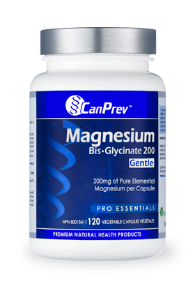 CanPrev Magnesium BisGlycinate 200mg