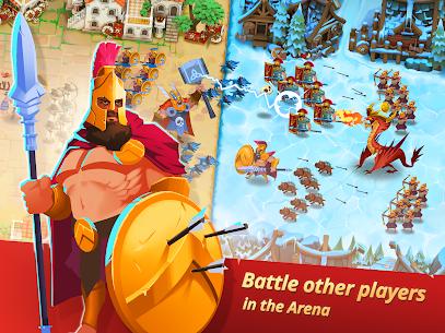 Game of Nations: Swipe for Battle Idle RPG Mod Apk 2021.10.7 (Mod Menu + Dumb Enemy) 7