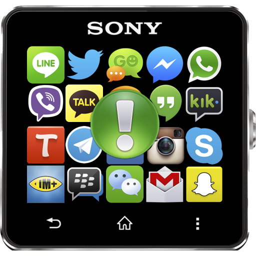 Notify for SmartWatch Icon