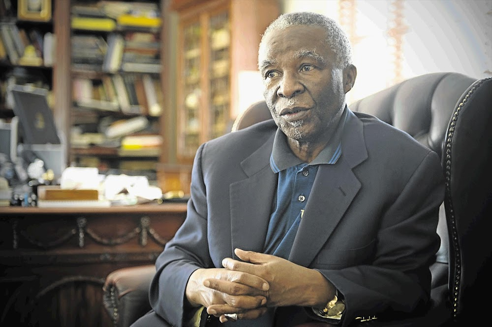 Thabo Mbeki's intervention on land collides head-on with the direction of the new, greedy ANC