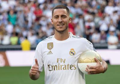 On connaît enfin le numéro d'Eden Hazard au Real Madrid !