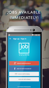 Job Square - your job app - náhled