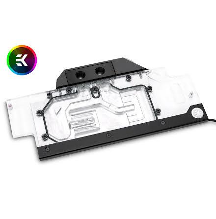 EK vannblokk for skjermkort, EK-FC1070 GTX Ti ASUS RGB - Nickel