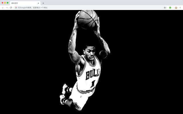 Derrick New Tab HD Popular Basketball Theme