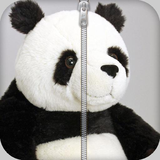 熊貓拉鍊鎖屏 個人化 App LOGO-APP試玩