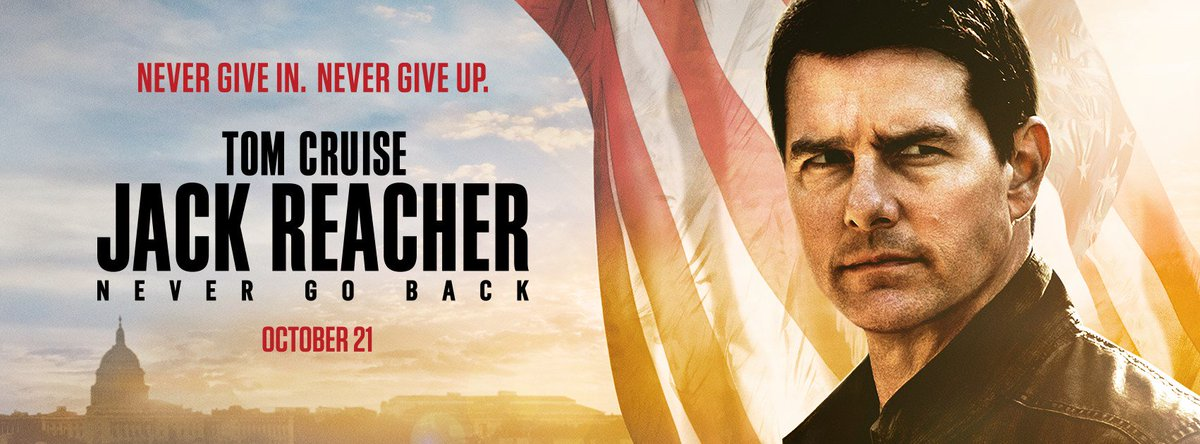 Jack Reacher - Never Go Back movie poster