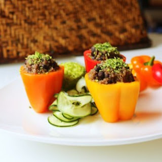 Mini Stuffed Bell Peppers