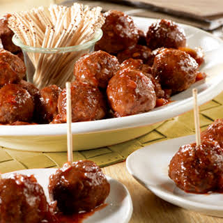 Slow Cooker Party Meatballs.