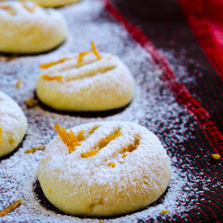 Orange Flour Cookies